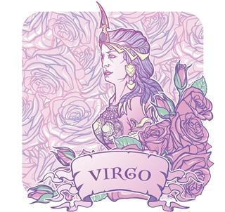 Zodiac symbol virgo