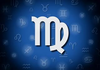 Astrology symbol virgo