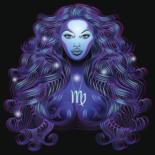 Zodiac virgo symbol