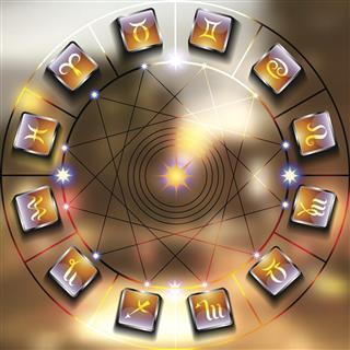 Magic Zodiac circle