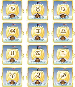 Zodiacal symbols
