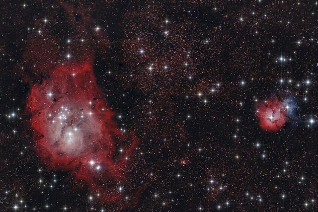 infrared nebulae