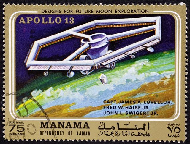 Apollo 13 mission on Manama