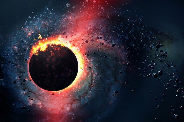 Star is born, universe, big bang, explosion, comet
