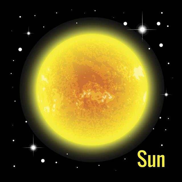 The Sun vector illustration
