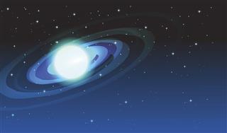 Blue Saturn