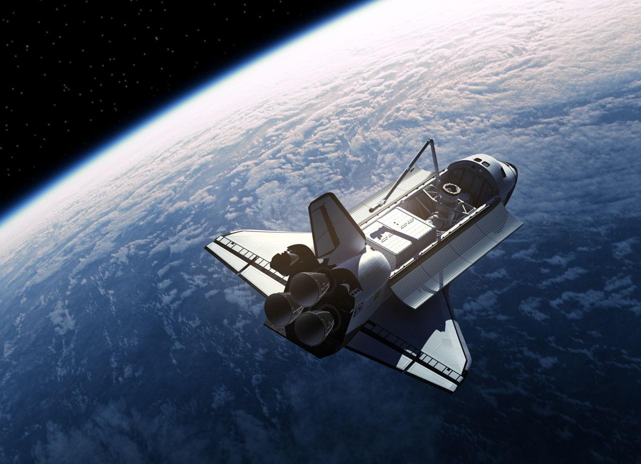 space shuttle habitable volume - photo #26