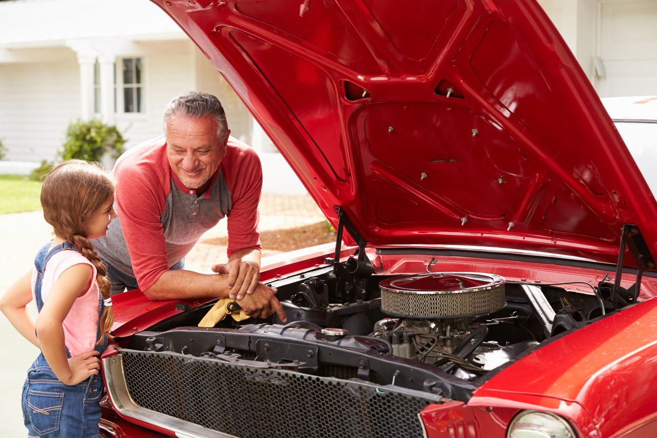 From The Mechanic S Handbook How To Open A Stuck Car Hood