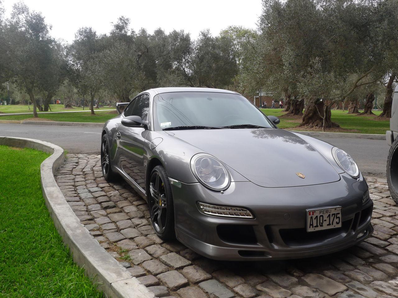Gray Porsche Carrera S