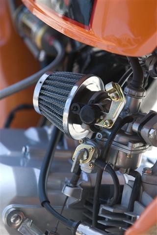 Carburetor Of Small Racing Motorbike