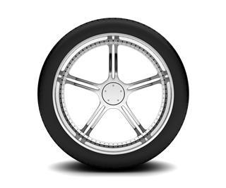 Beautiful Car Wheel