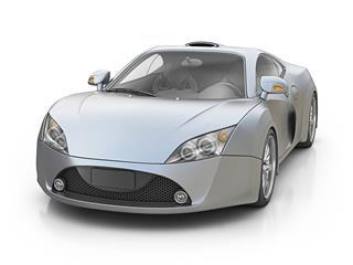 Silver Supercar