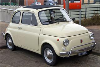 Classic Vintage Italian Car Fiat 500