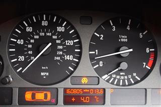 Speedometer And Tachometer Gauges