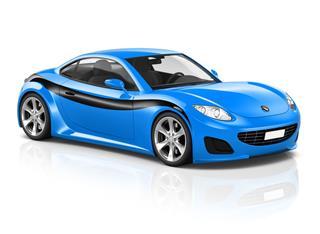 Super Car Elegant Automobile