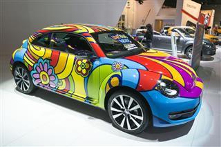 Parade Art On Car