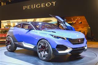 Peugeot Quartz Concept Hybrid Car