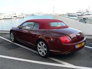 Convertible Bentley
