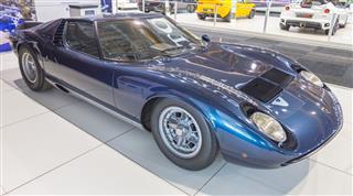 Lamborghini Miura Seventies Supercar