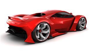 Red Hypercar