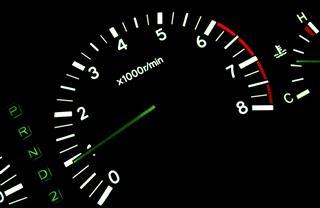 Tachometer In The Car