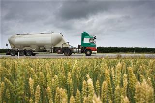 Truck With Bulk Cargo