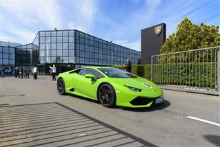 Green Ferruccio Lamborghini