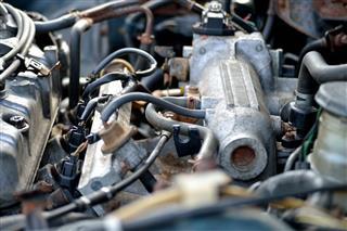 Intake Manifold Of Car