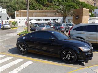 Audi Tt Parked