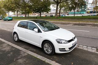 Volkswagen Golf White Car