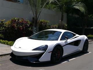 White And Black Mclaren 570S