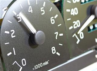 Car Tachometer Dashboard