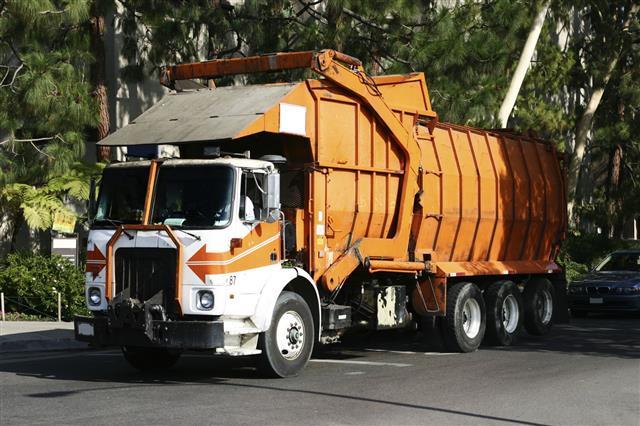 Garbage Refuse Rubbish Truck