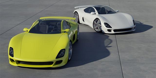 Due auto sportive