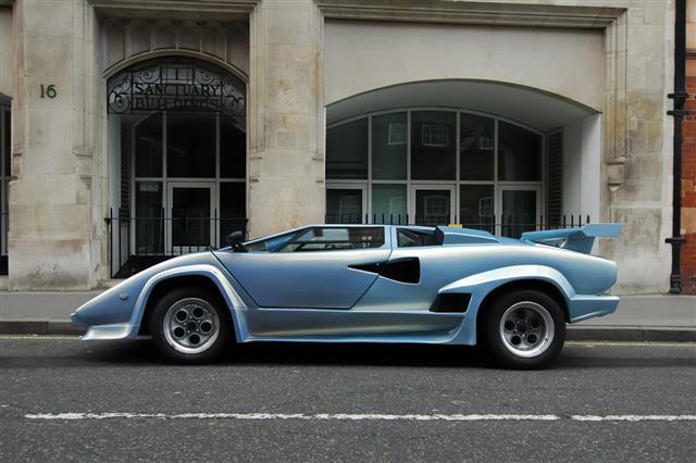 Lamborghini Countach 1980S Italian Supercar