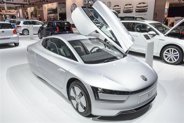 Volkswagen Xl1 Concept Car