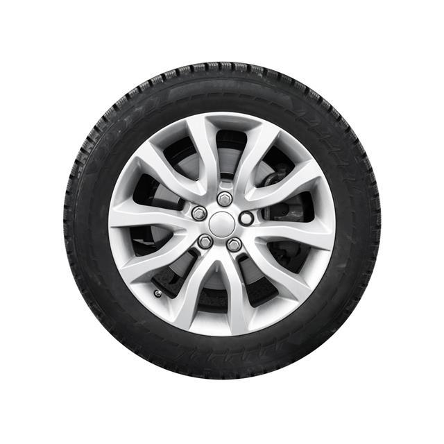 Automotive Wheel On Light Alloy Disc