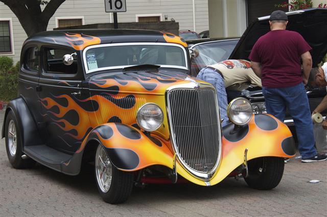 Vintage Black Ford
