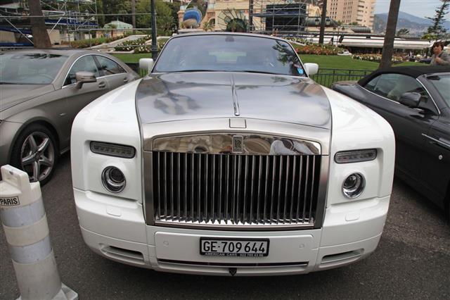 Rolls Royce Monte Carlo Casino Monaco