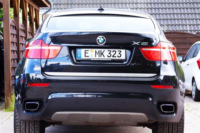Bmw X6 Hybrid Car