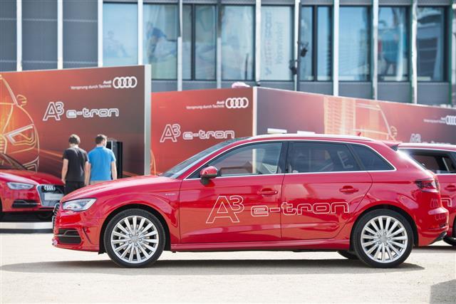 Audi A3 E Tron Car