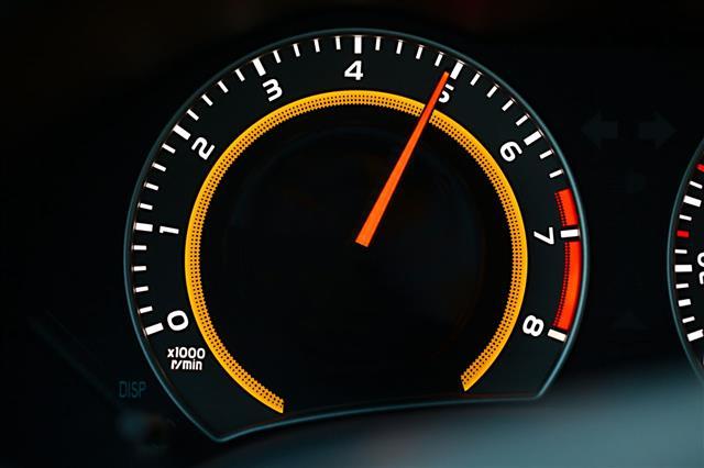 Tachometer Car Dashboard