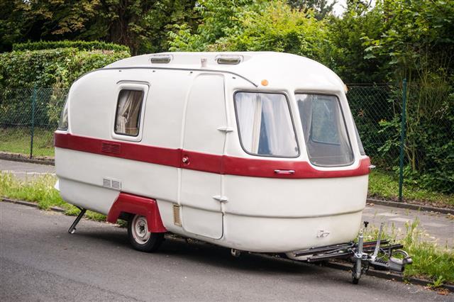 Old Camping Van