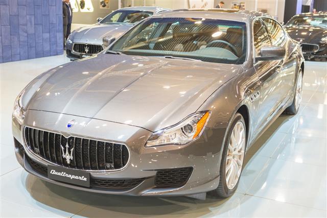 Maserati Quattroporte Luxury Saloon Car