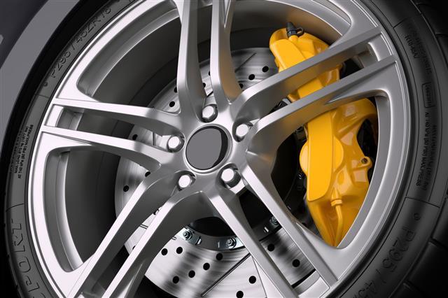 Brake System Of Sport Car