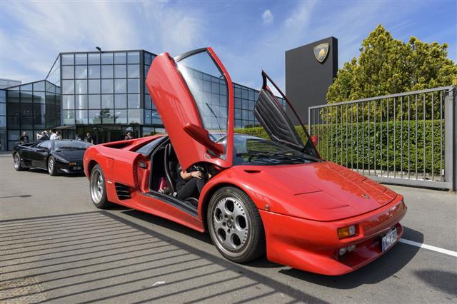 Red Ferruccio Lamborghini