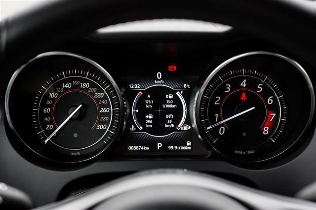 Modern Style Car Dashboard