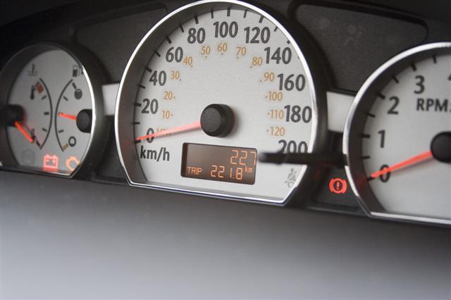 New Car Odometer