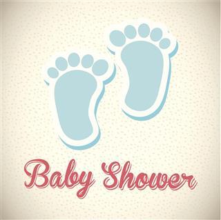 Baby design card