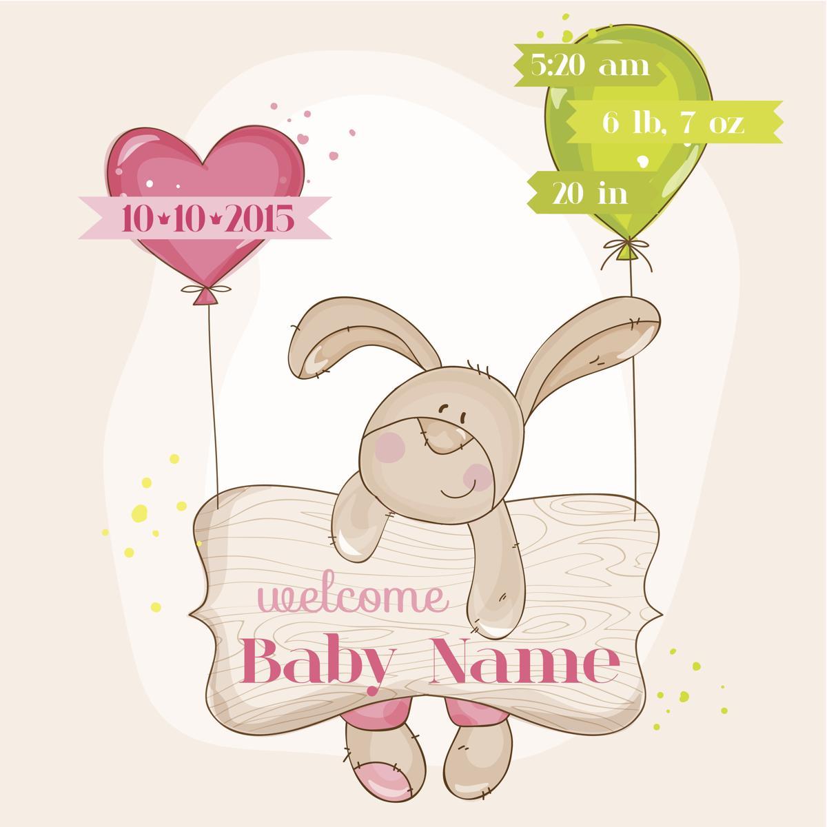 cute baby boy announcements